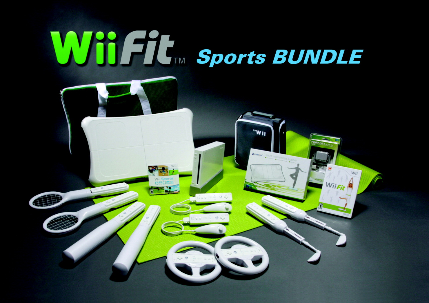 WiiFit Sports Bundle-Refurbished