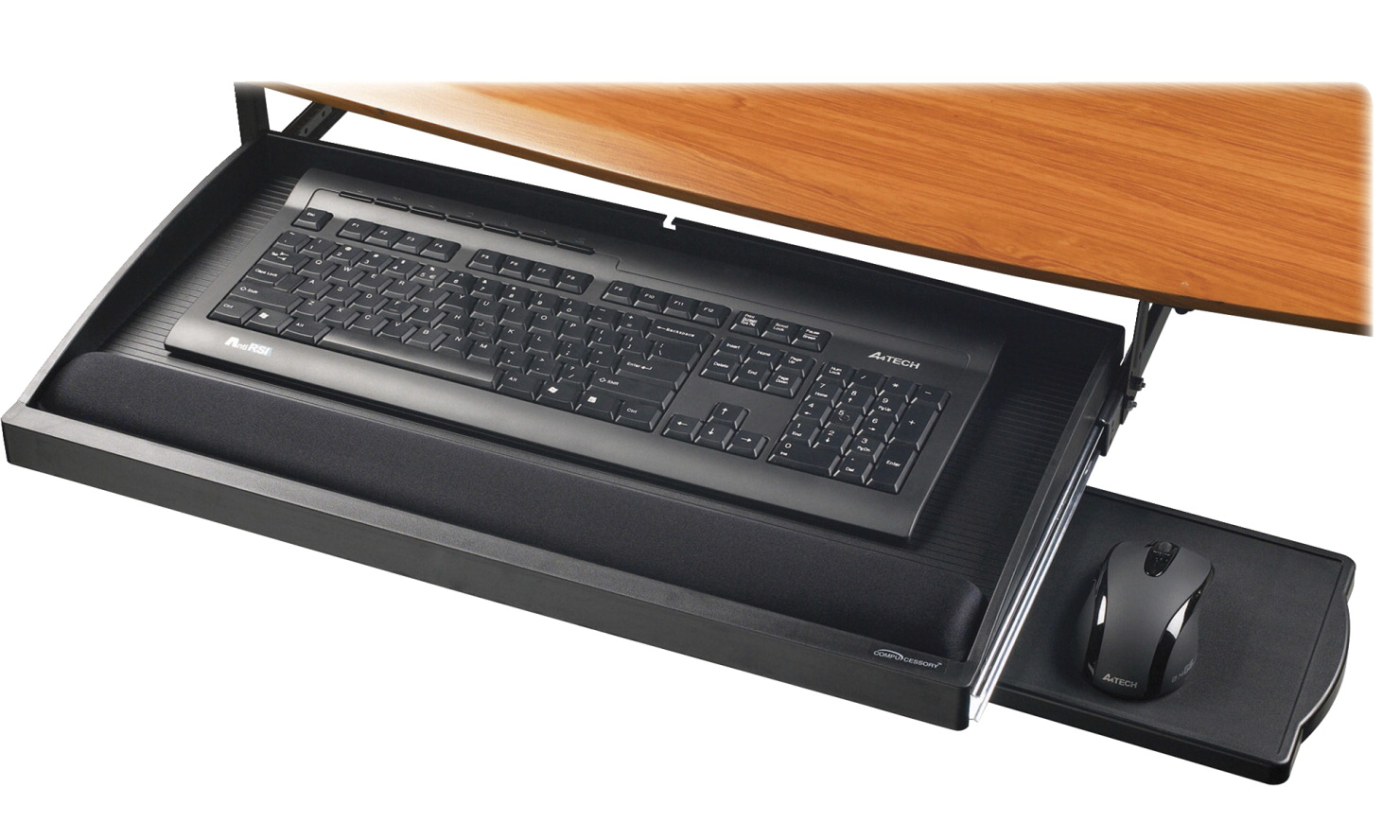 Compucessory Underdesk Keyboard Drawer 22 1 2 X 11 3 4