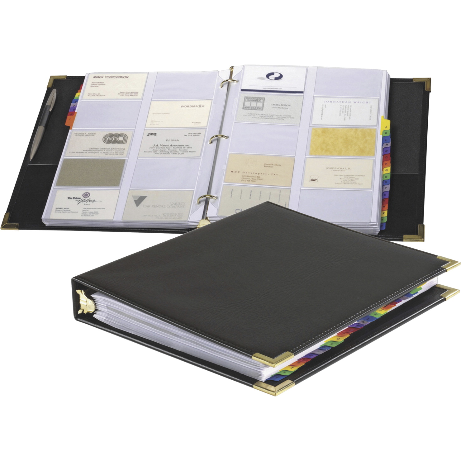 Business Card Ring Binder Soar Life Products