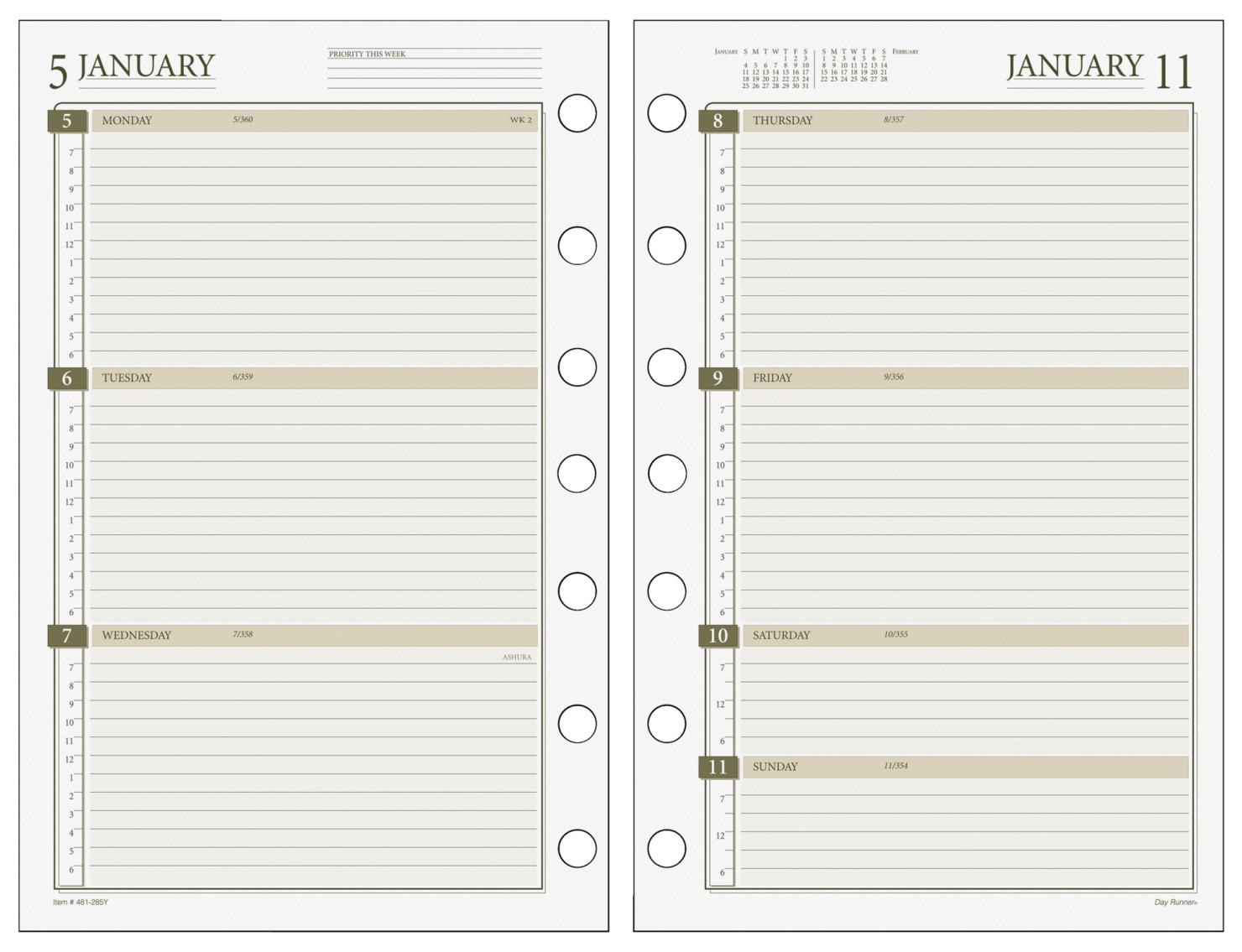 Calendar Refill School Specialty Marketplace