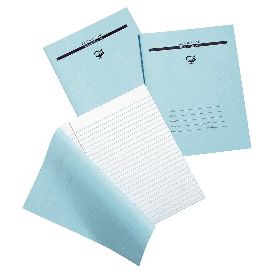 Pacon examination blue book school specialty marketplace for Blue bond paper