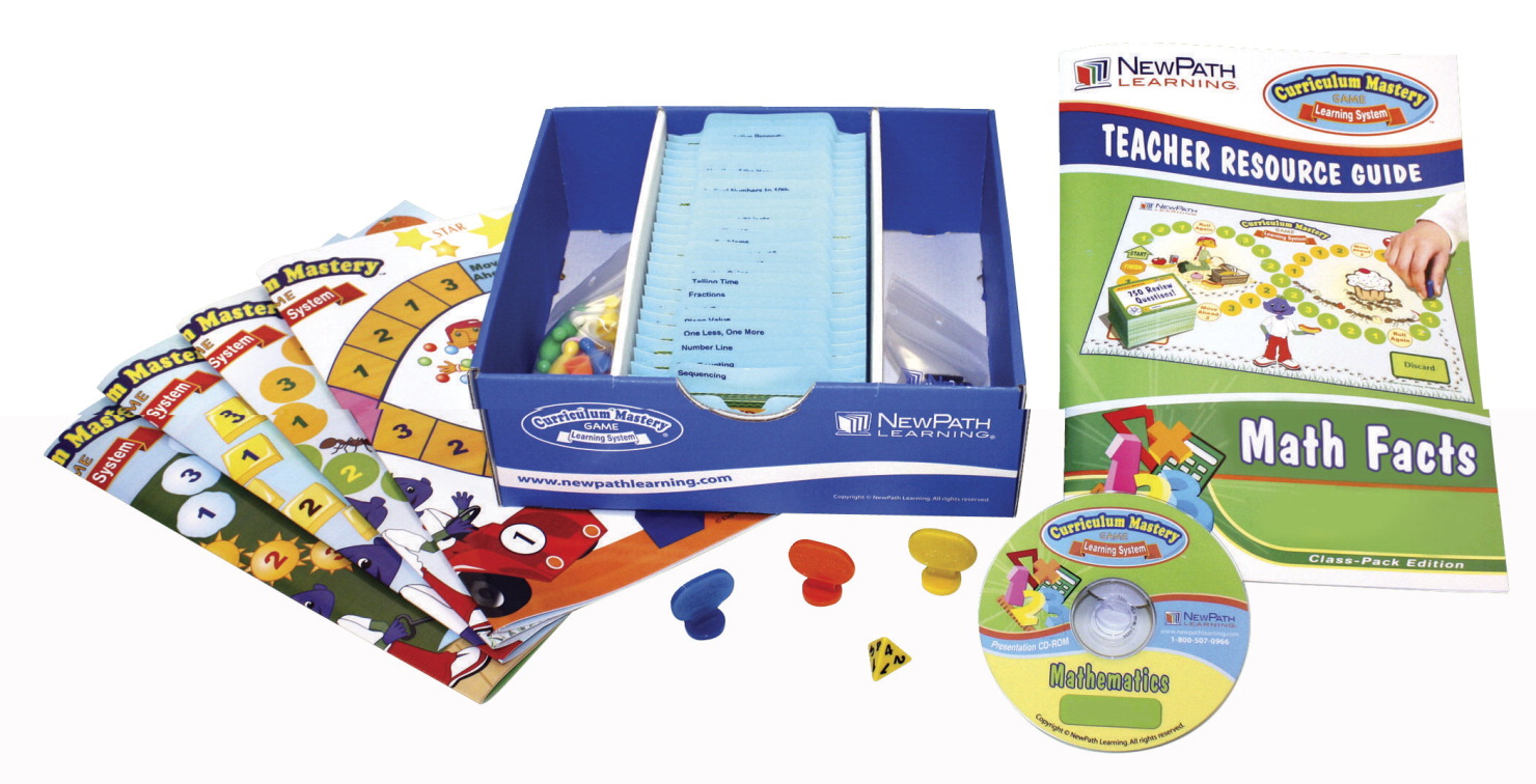 NewPath Study Group Edition Math Facts Curriculum Mastery Game