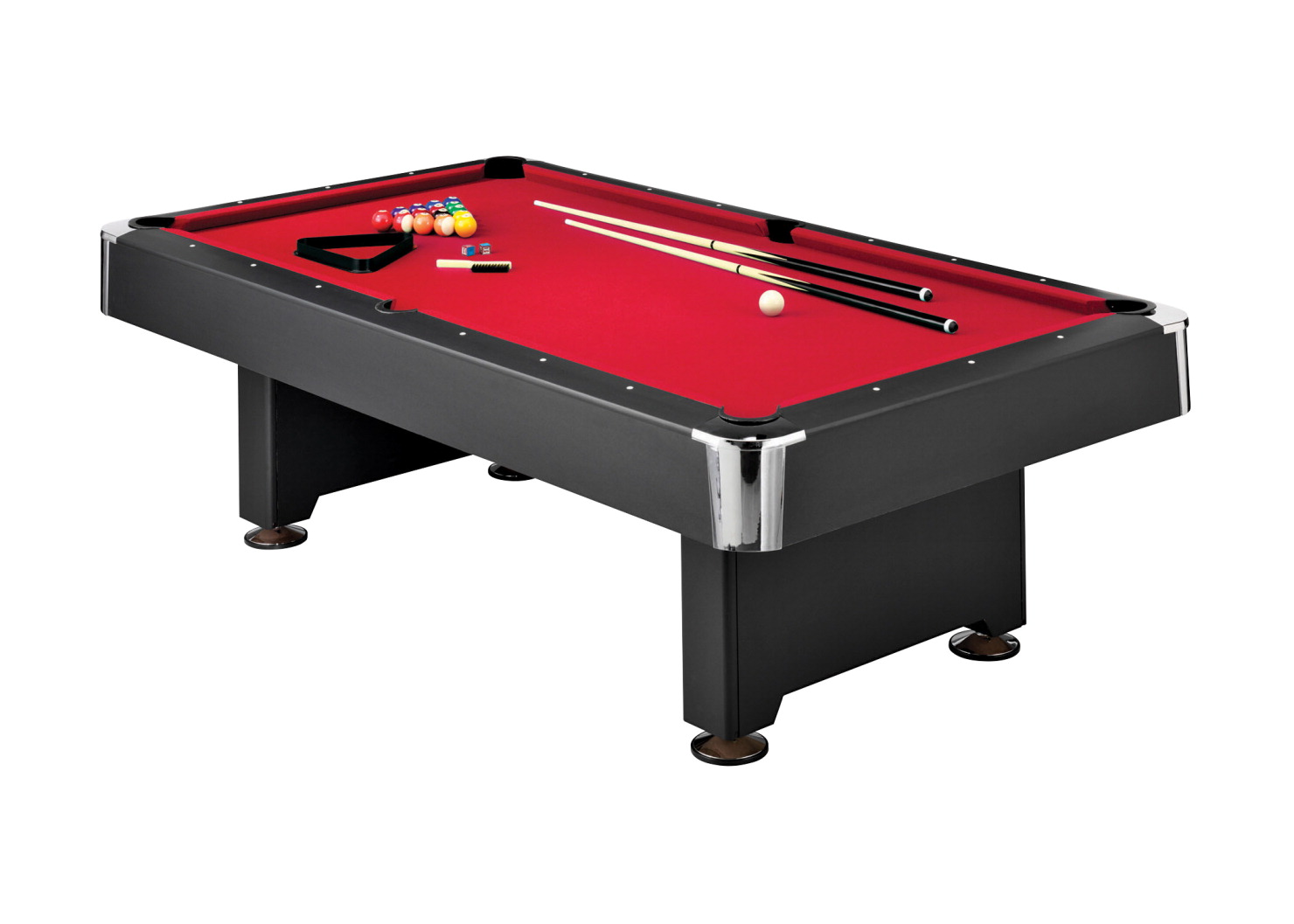 Donovan II Billiard Pool Table Set SOAR Life Products - Red top pool table