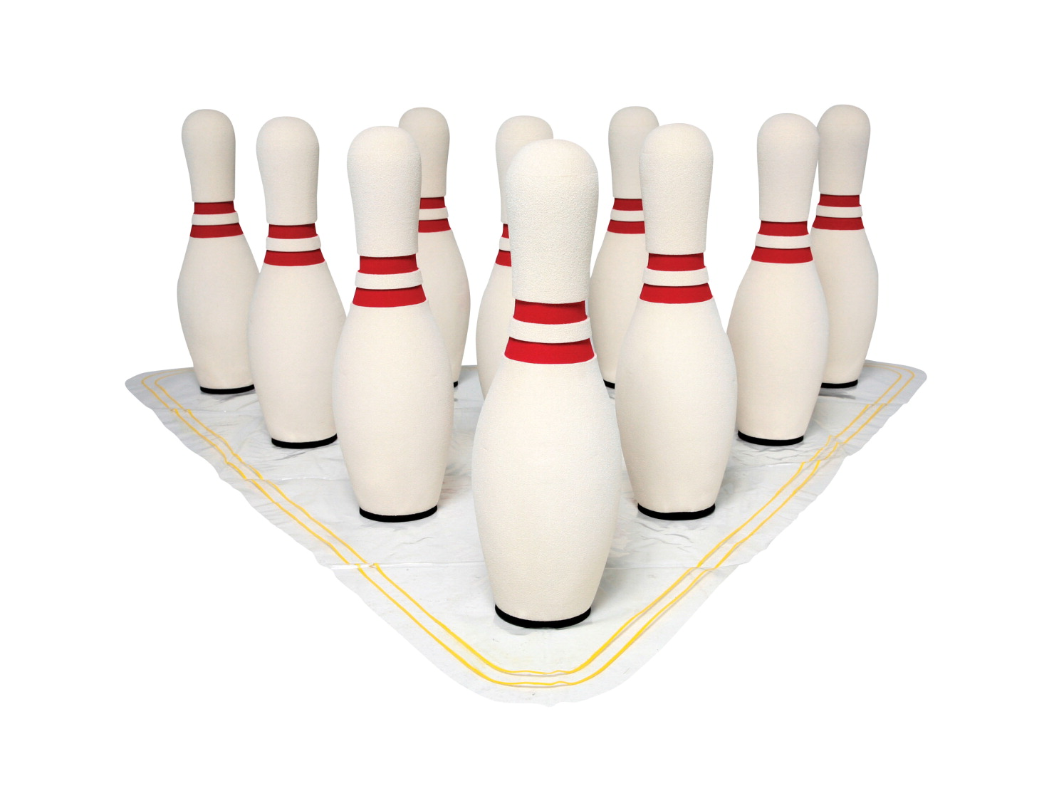 UltraFoam 15 Inch Unweighted Bowling Pins, Set of 10