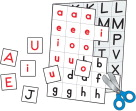 Alphabet Games, Alphabet Activities, Alphabet Learning Games Supplies, Item Number 1329264