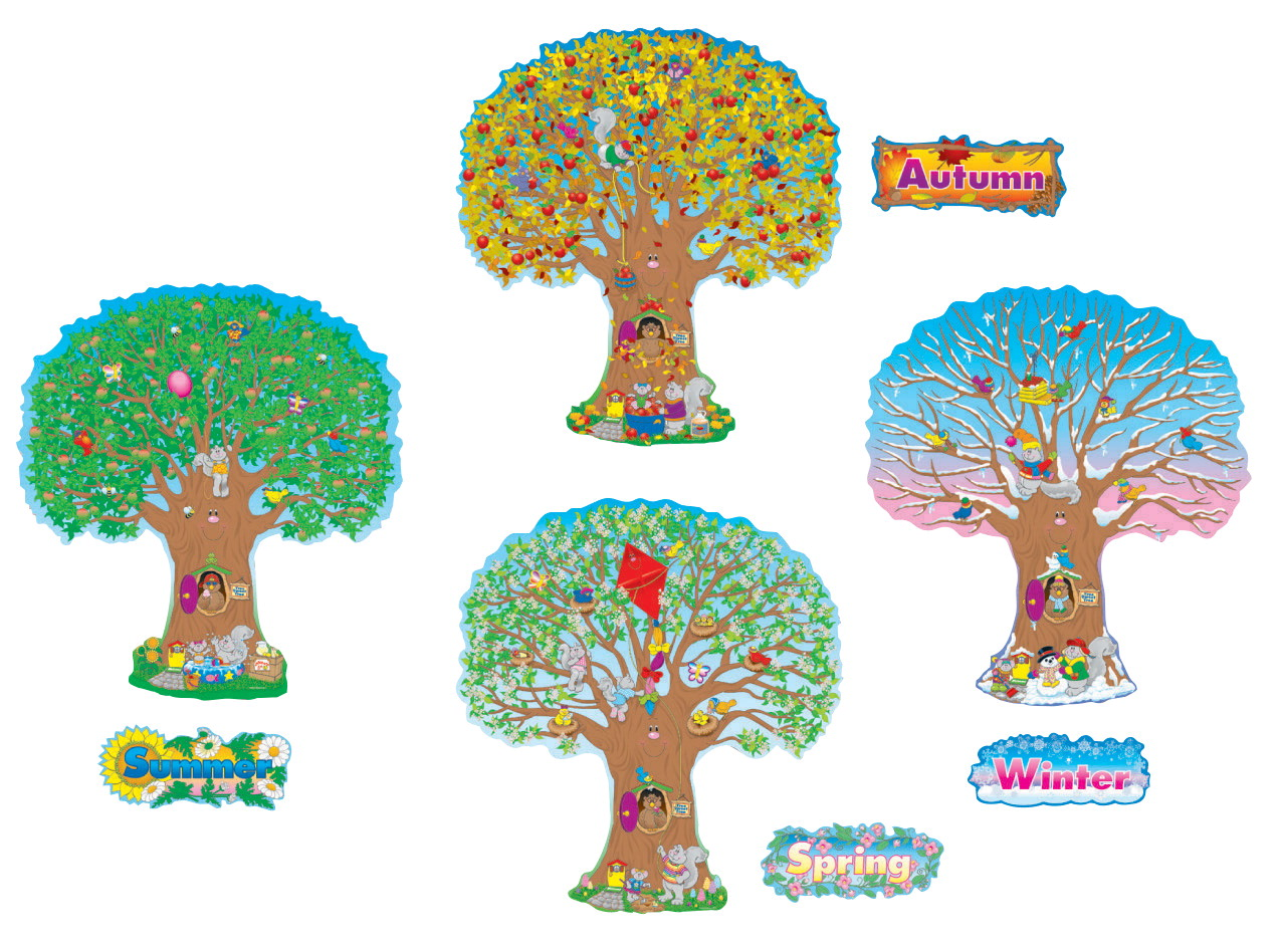 Bulletin board set school specialty marketplace for 4 seasons decoration