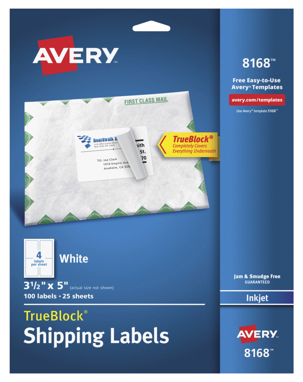 Shipping Label Soar Life Products