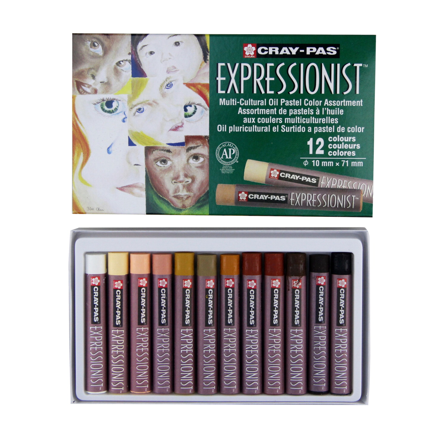 Multi Cultural Oil Pastel Set Soar Life Products