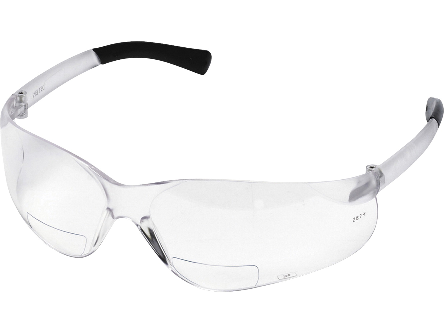R3 Safety BearKat Magnifier Eyewear - Bearkat Magnifier Eyewear,w/ 1.5 Dioper,Padded Temple,Clear