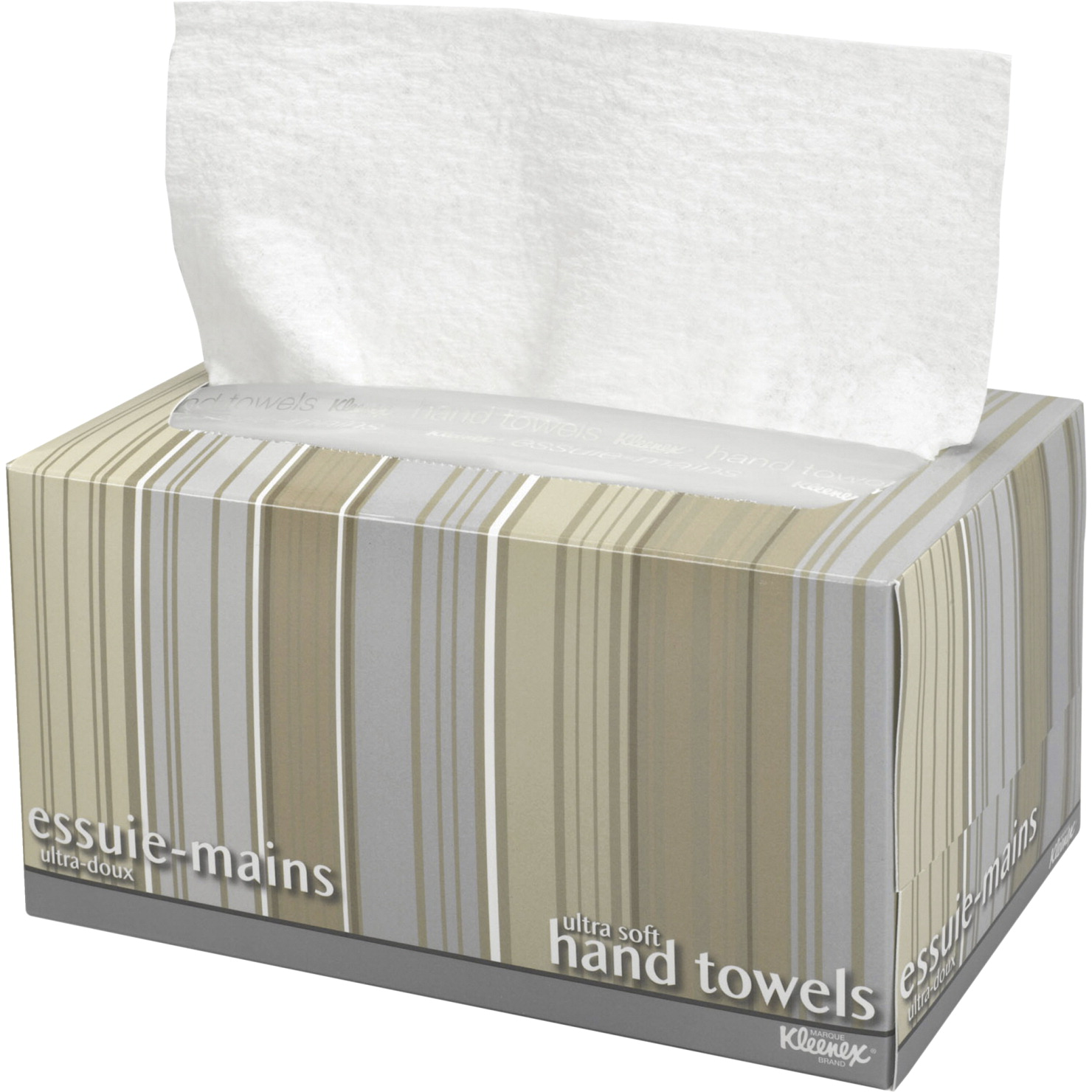 Kimberly-Clark Kleenex Ultra Soft Pop-Up Box Hand Towel, 9 X 10-1/2 in, 1-Ply, White, Pack of 70