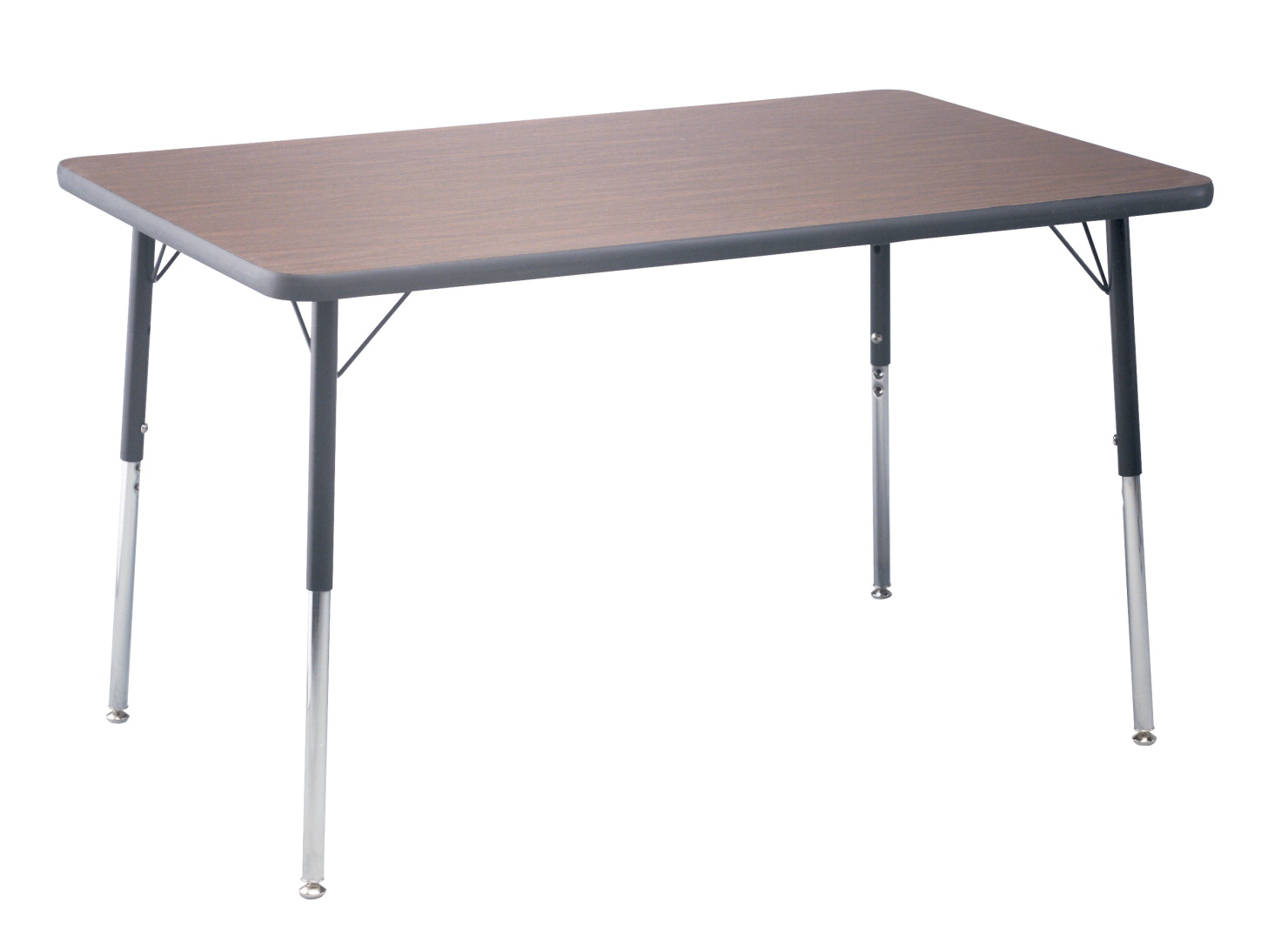 Classroom Select T-Mold Activity Table, Rectangle, Adjustable Height, 30 x 60 Inches, Various Options