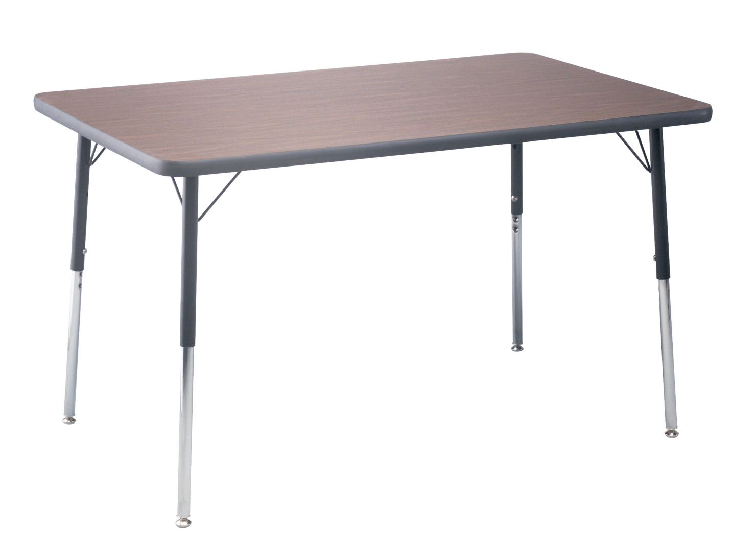Classroom Select T-Mold Activity Table, Rectangle, Adjustable Height, 36 x 72 Inches, Various Options