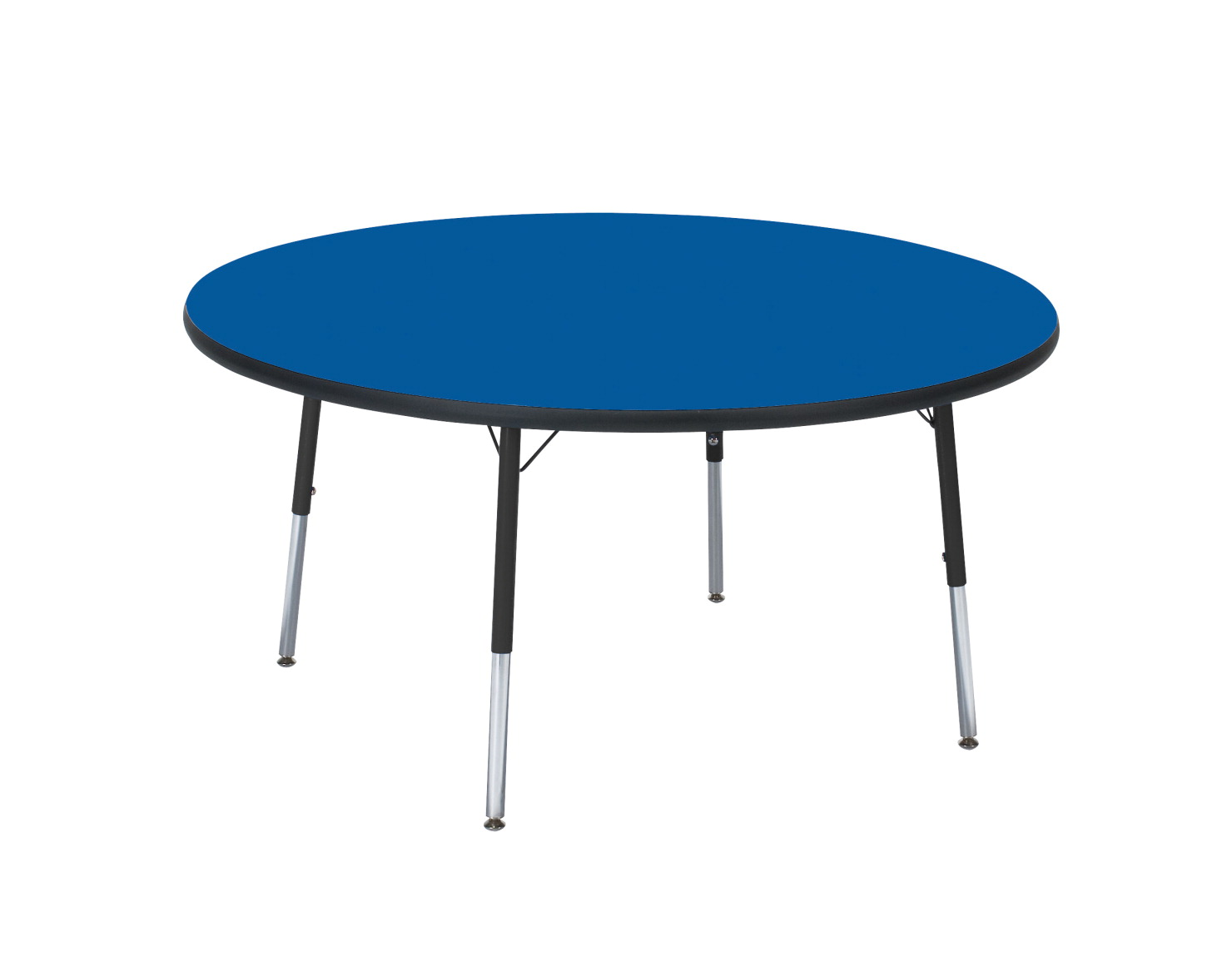 Classroom Select T-Mold Activity Table, Round, Adjustable Height, 42 Inches, Various Options