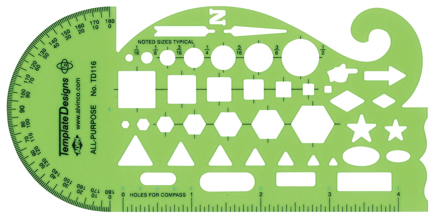 drafting and drawing template soar life products