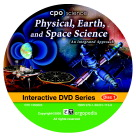 CPO Science Physical, Earth, and Space Science Interactive DVD Set, Set of 3