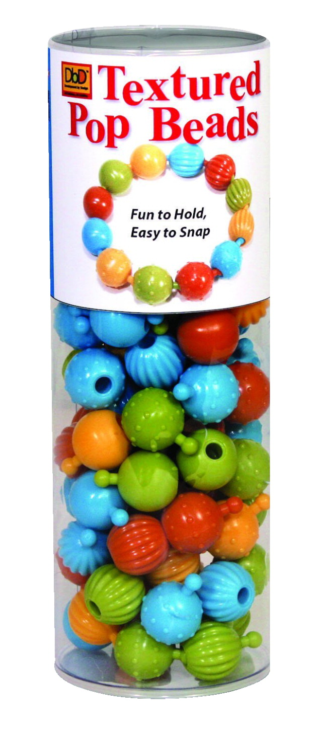 DbD Toys Pop Beads, 1 Inch Each, 100 Pieces