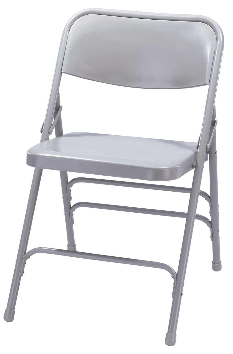 National Public Seating 300 Series Workhorse Steel Folding Chair, 17-1/4 Inch Seat, Various Options