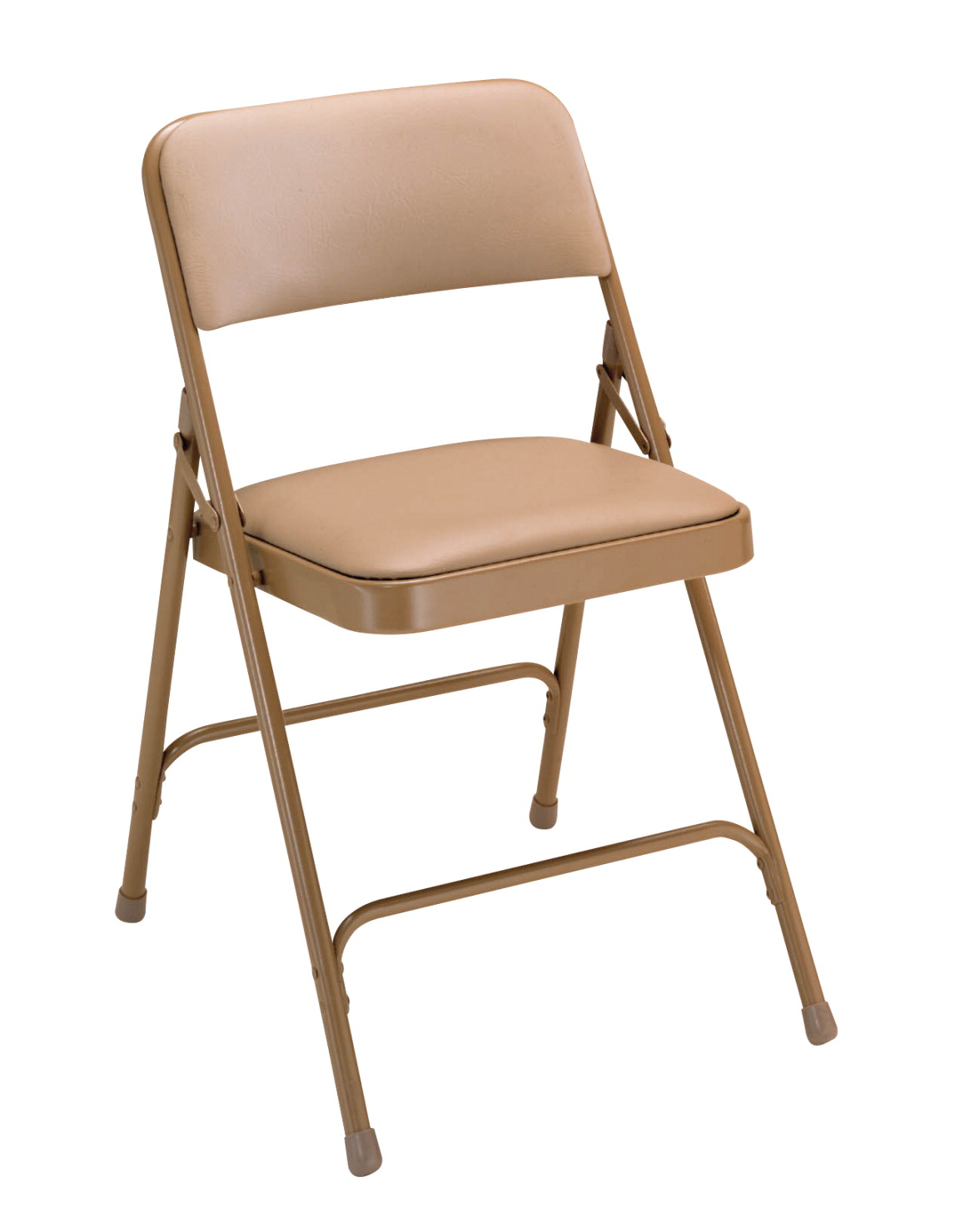 National Public Seating 1200 Series Premium Upholstered Vinyl Folding Chair, 17-3/4 Inch Seat, Various Options