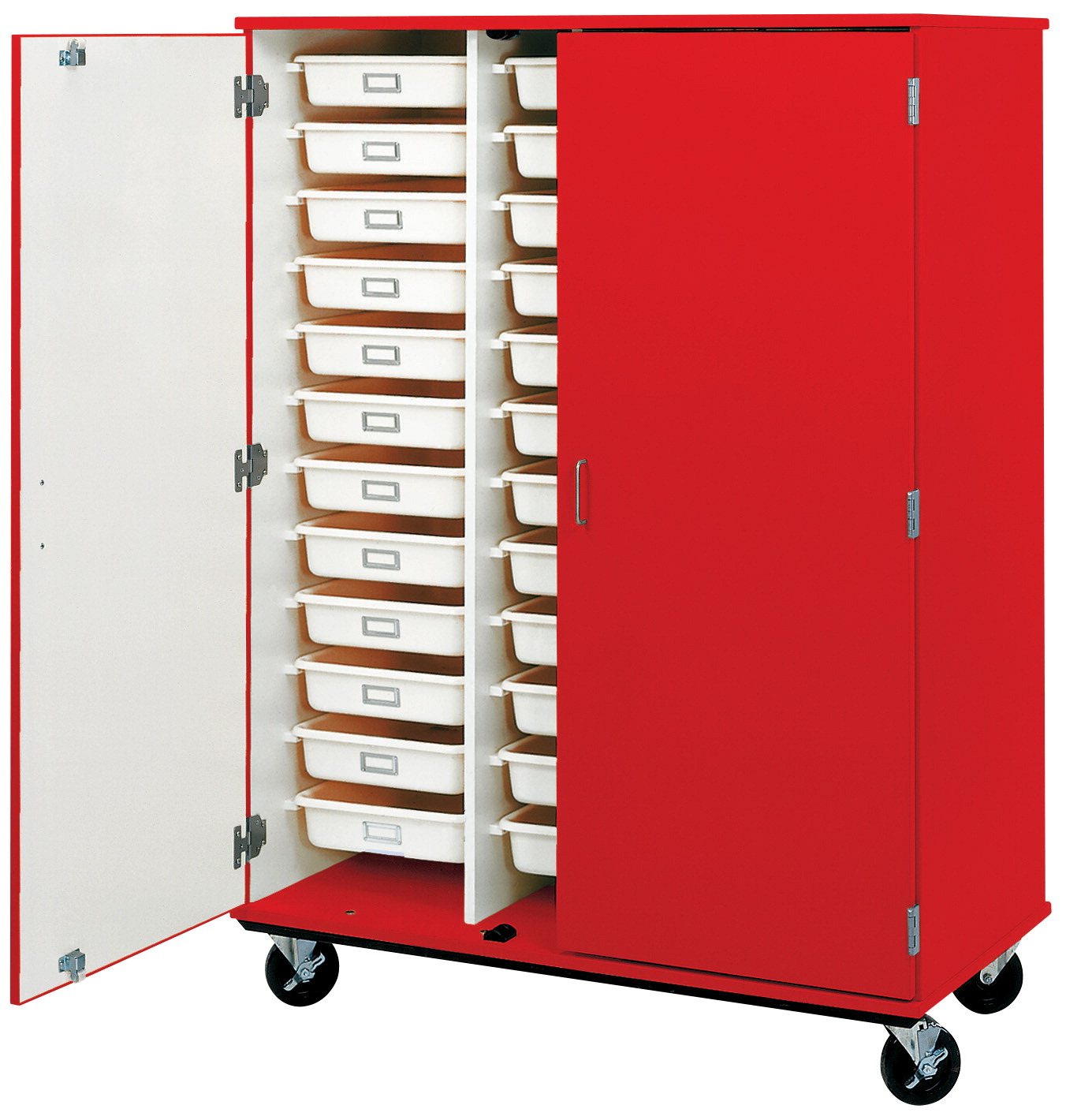 Stevens I D Systems Mobile Tray Cabinet With Doors No Lock 36 Trays 48 X 24 67 Inches Various Options