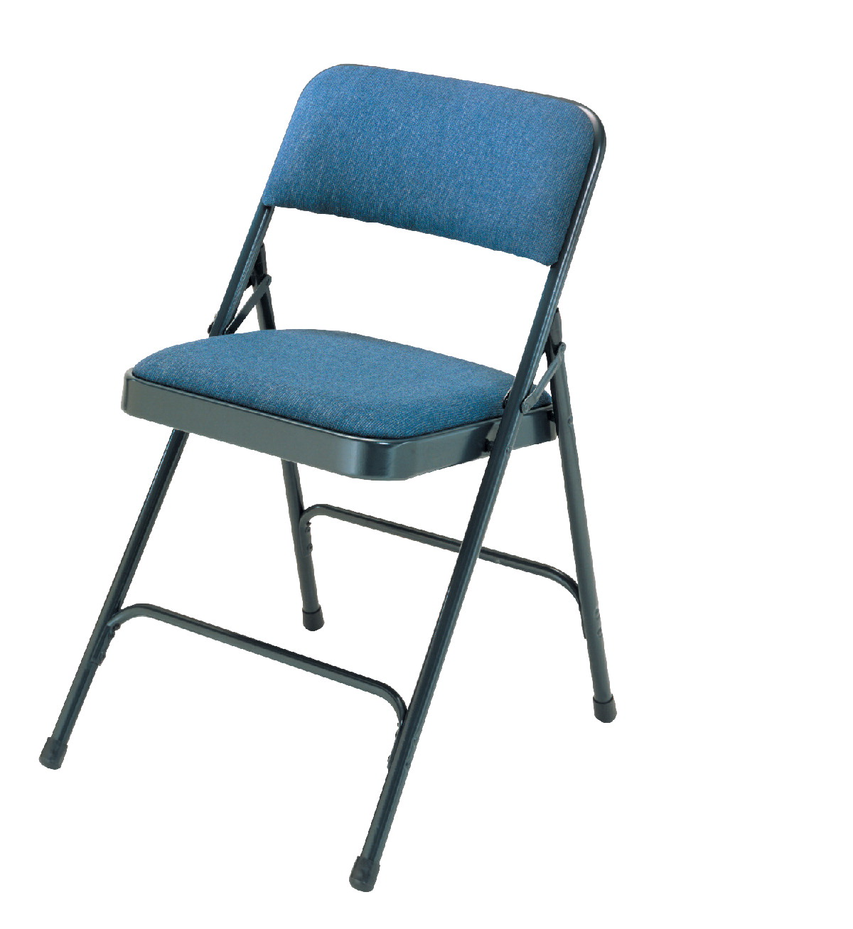National Public Seating 2200 Series Premium Upholstered Fabric Folding Chair, 17-3/4 Inch Seat, Various Options