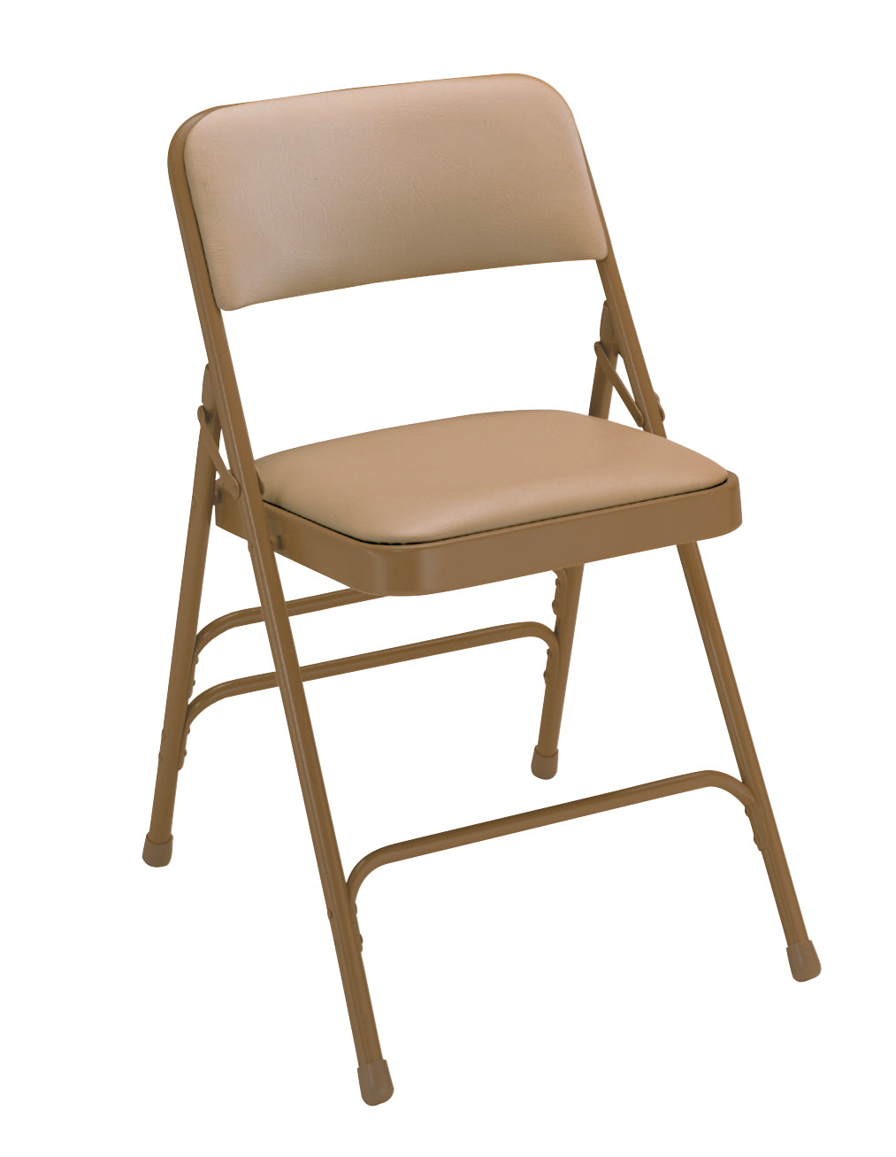 National Public Seating 1300 Series Premium Upholstered Vinyl Folding Chair, 17-3/4 Inch Seat, Various Options