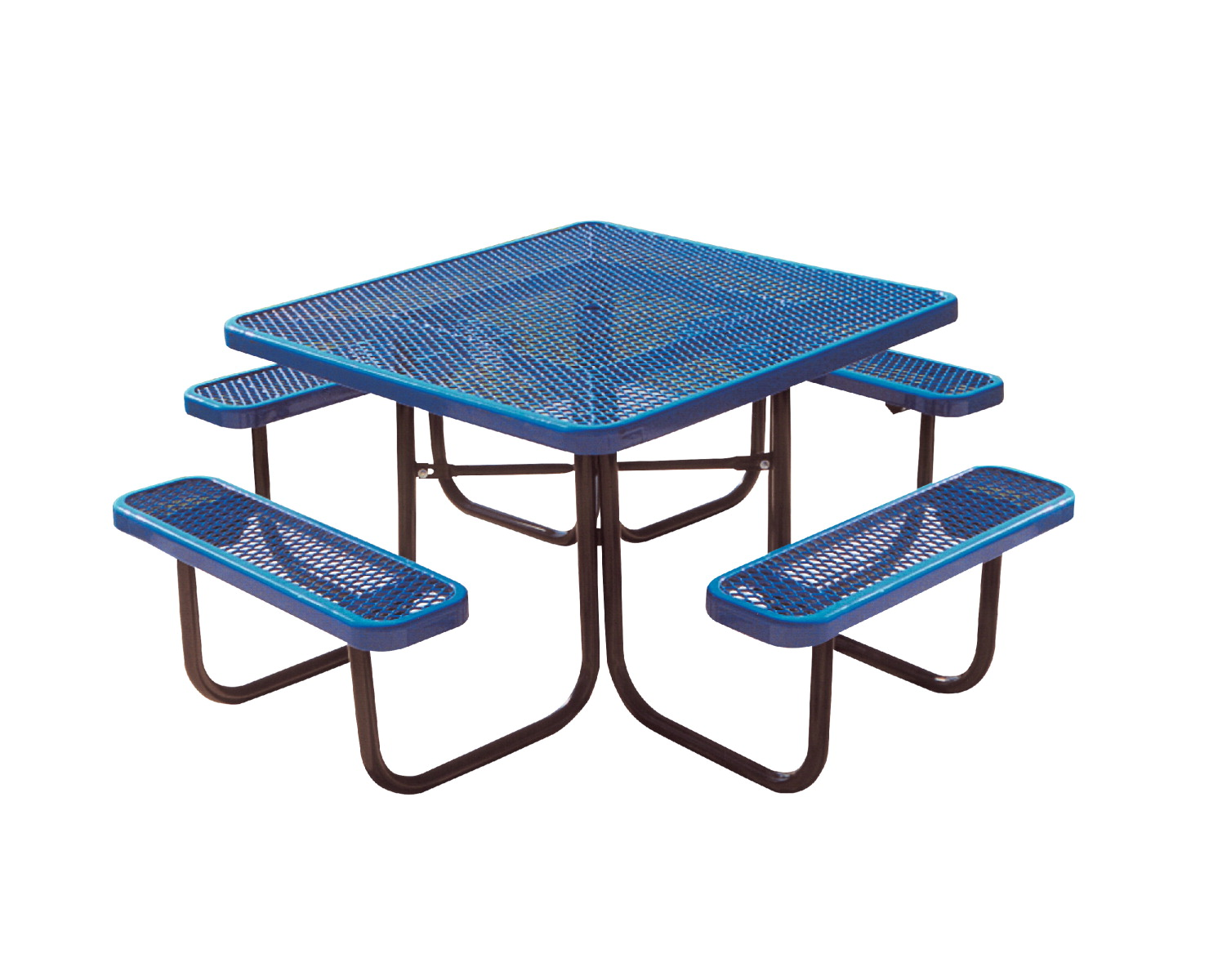 UltraSite UltraCoat Thermoplastic Square Table, Diamond Pattern, 78-3/4 x 78-3/4 x 30-1/4 Inches, Various Options