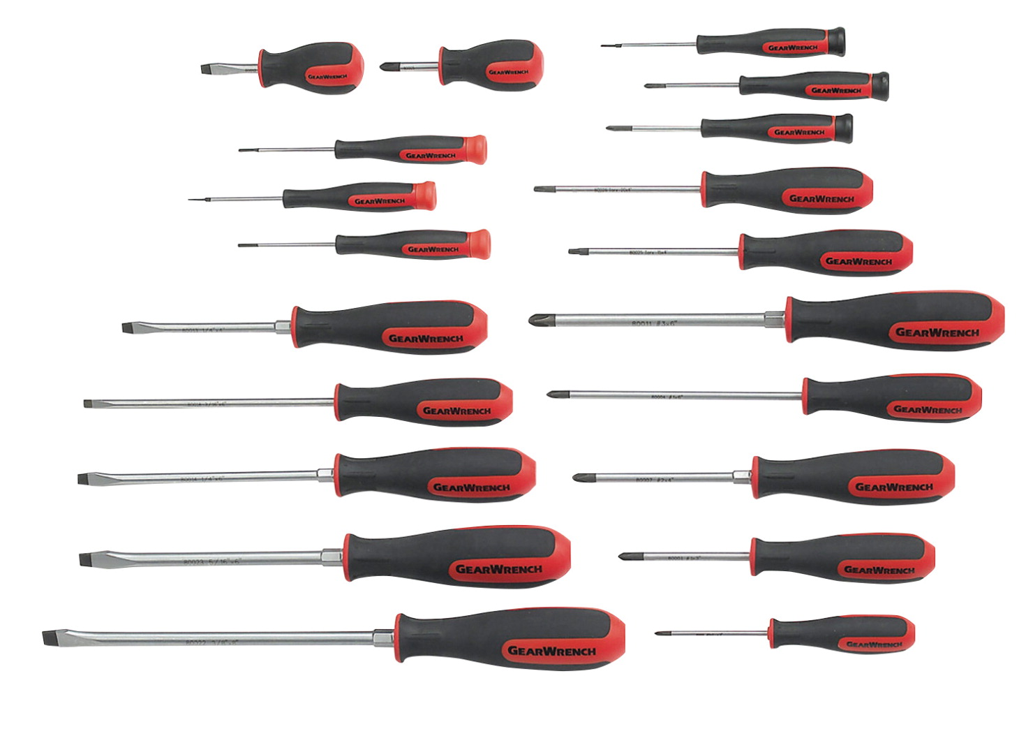 Gearwrench 20-Piece Dual Material Master Screwdriver Set, Set of 20