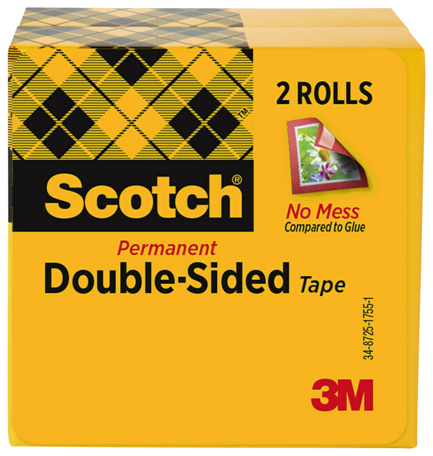 scotch double sided tape clear classroom direct. Black Bedroom Furniture Sets. Home Design Ideas