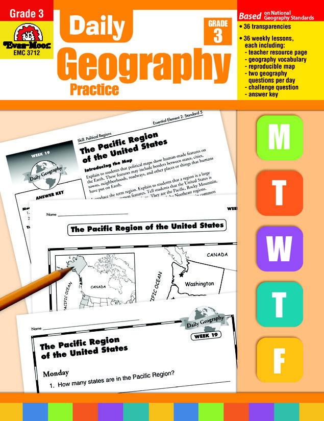 Map Of Canada For Grade 3.Practice Book School Specialty Canada