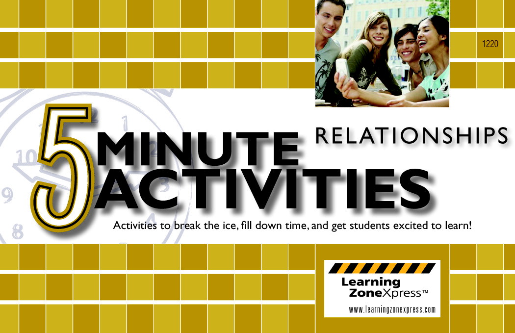 Learning ZoneXpress 5 Minute Relationship Activities