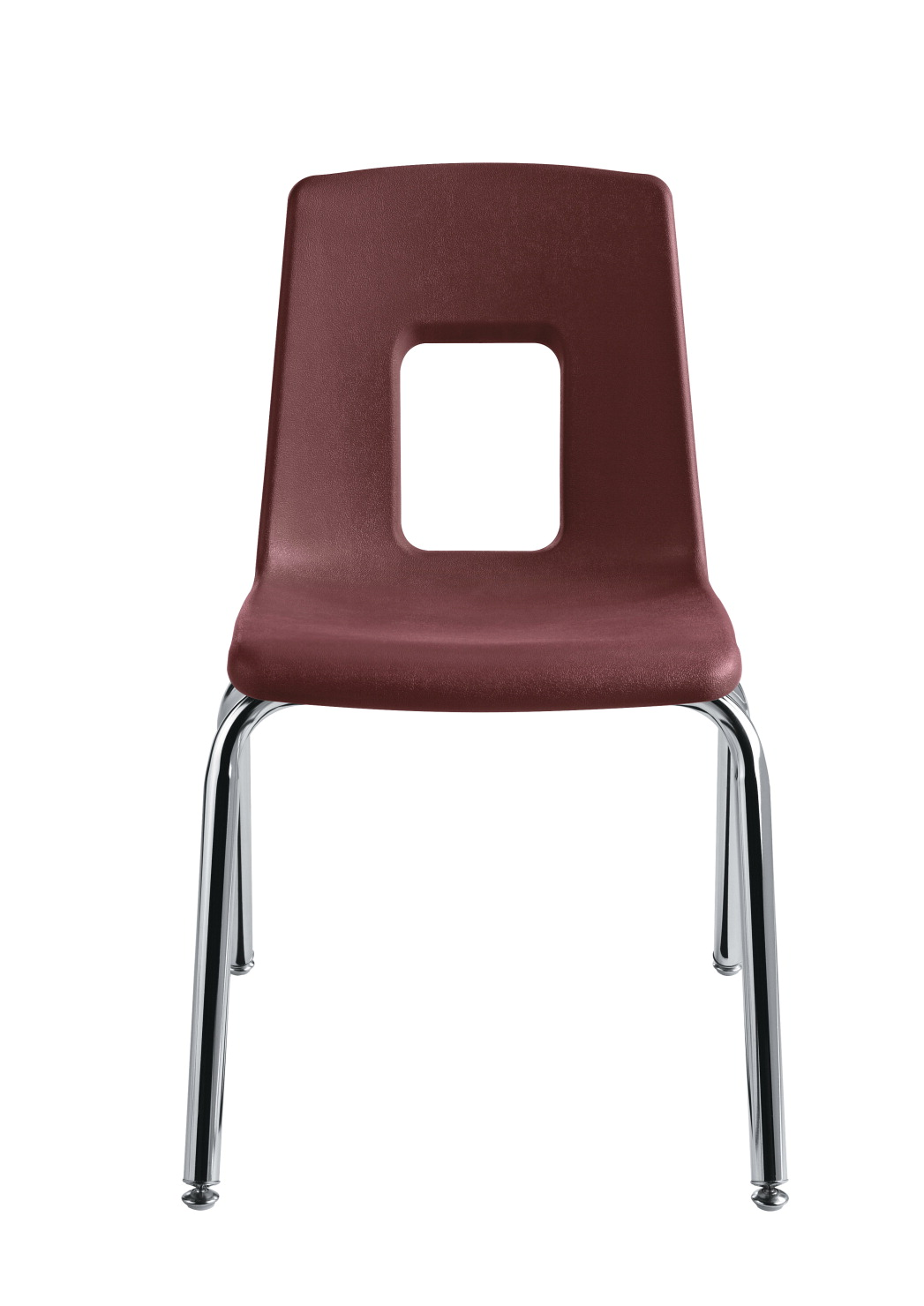 Classroom Select Traditional Chair 17 1 2 Inch Seat Chrome Frame