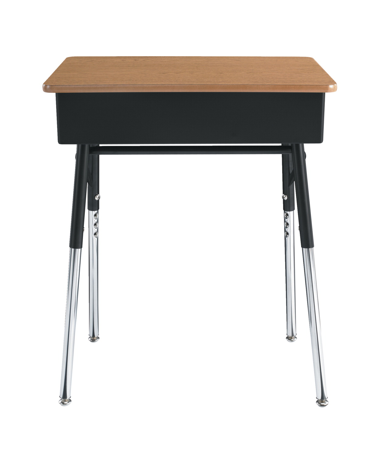 Classroom Select Traditional Open Front Desk Adjule Height 18 X 24 Inch Laminate Top