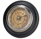 United Scientific Economy Aneroid Barometer, 7-1/2 Dia in