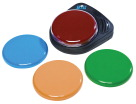 Ablenet BIGmack Interchangeable Single Message AAC Communicator, 5 in, Assorted Color