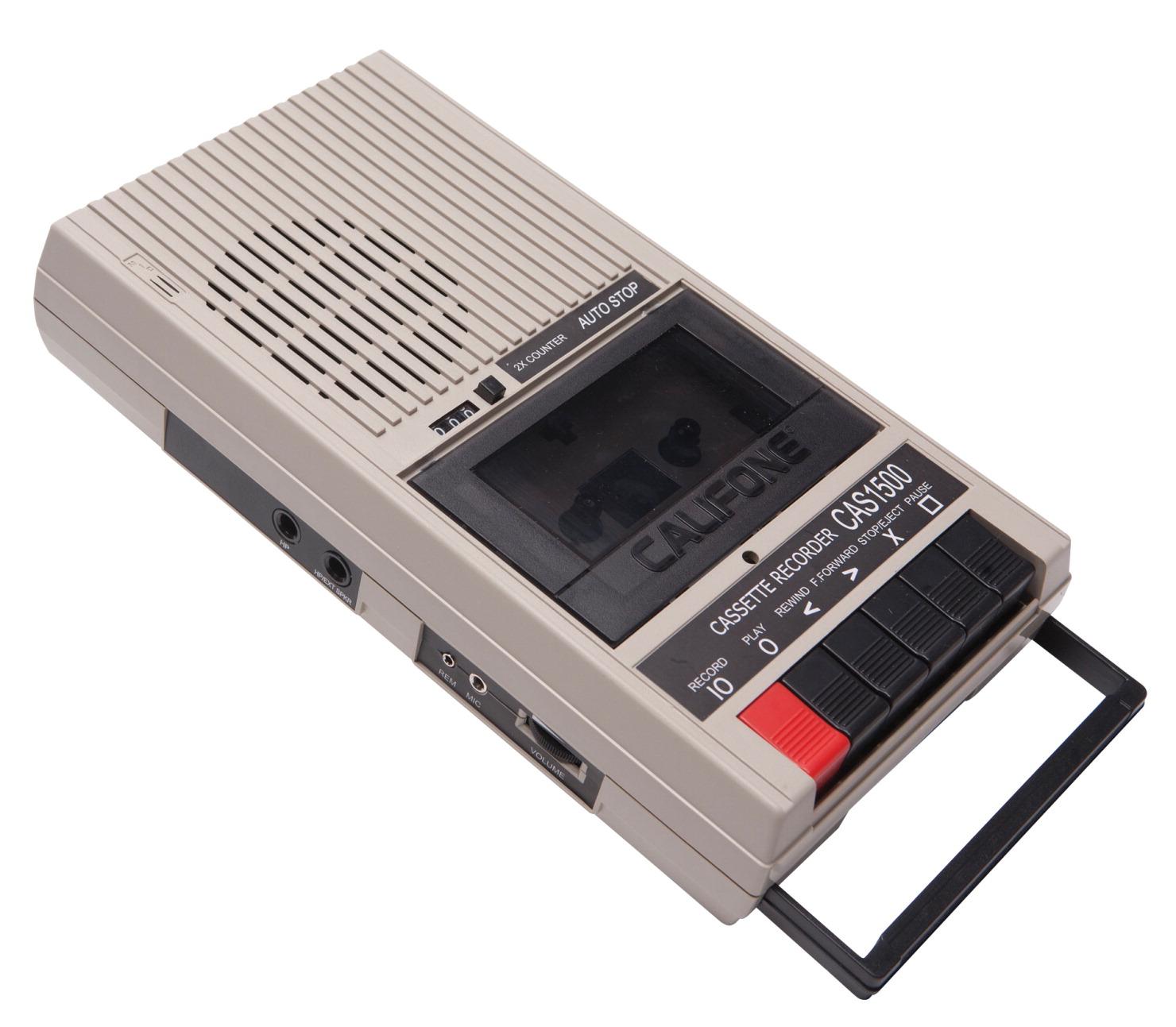 Califone CAS 1500 Cassette Player/Recorder - SCHOOL SPECIALTY CANADA