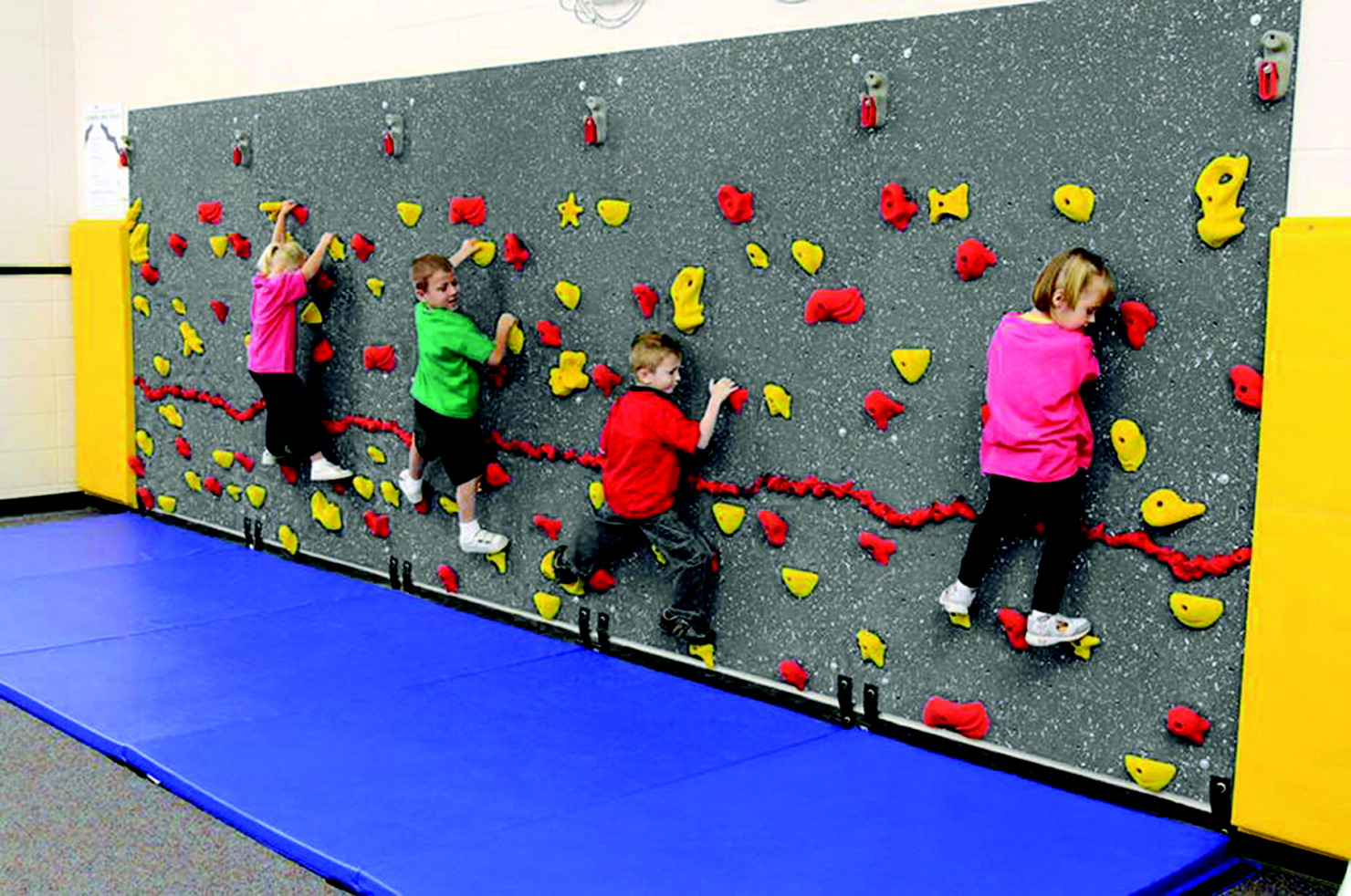 WeeKidz Traverse Wall Set, Pre-K