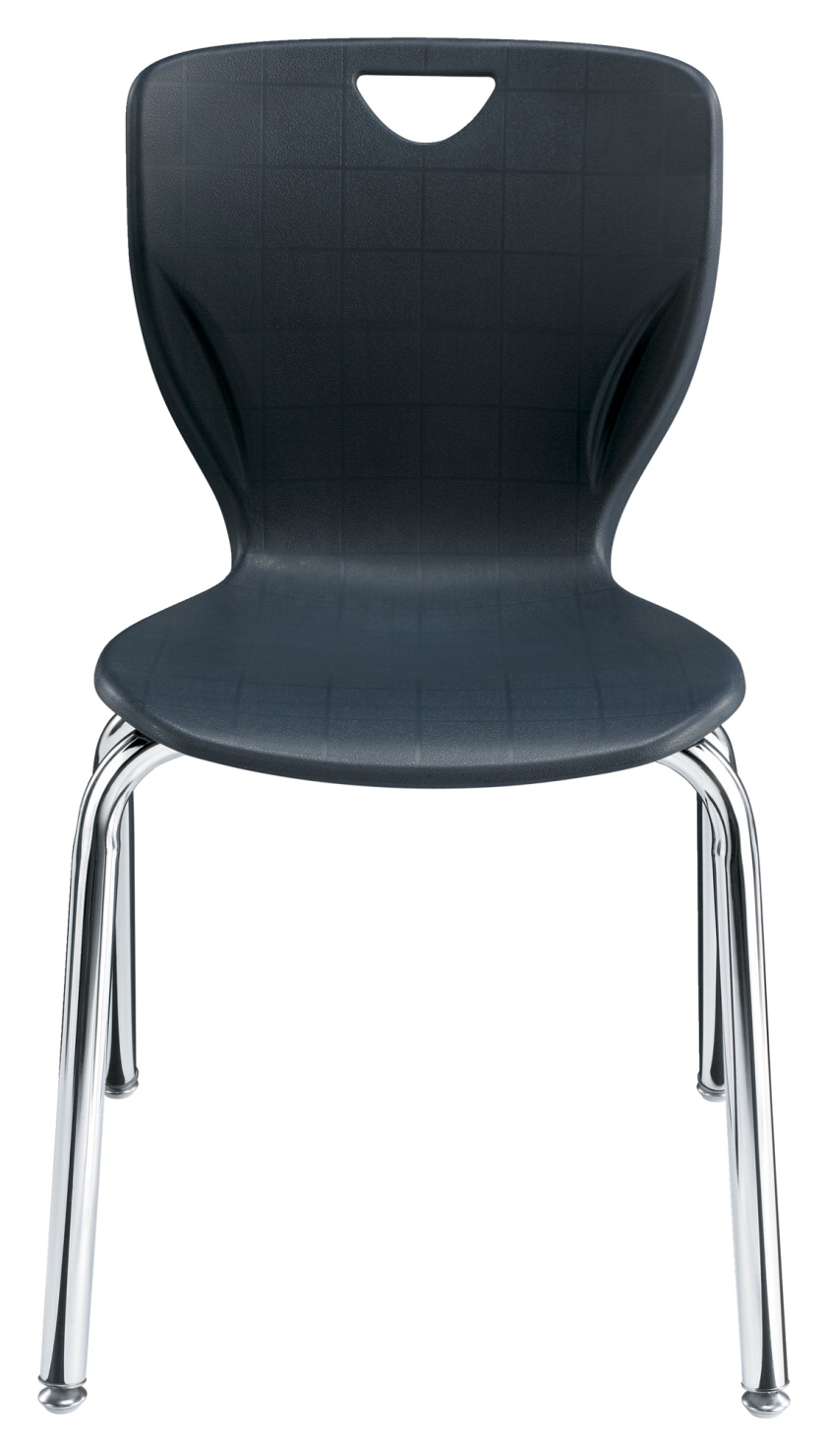 Classroom Select Contemporary Chair, 20 Inch A+ Seat Height, Chrome Frame, Various Options