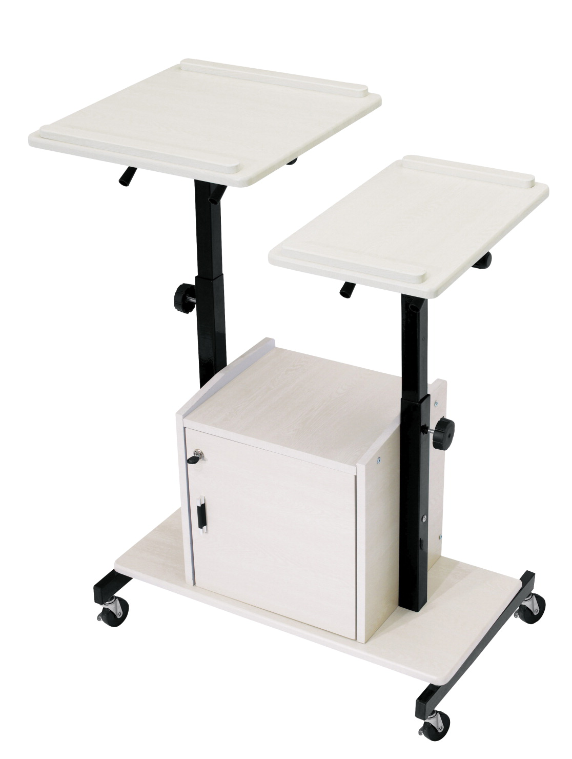 Oklahoma Sound PRC 300 Deluxe Presentation Cart, 32 x 24 x 44 Inches
