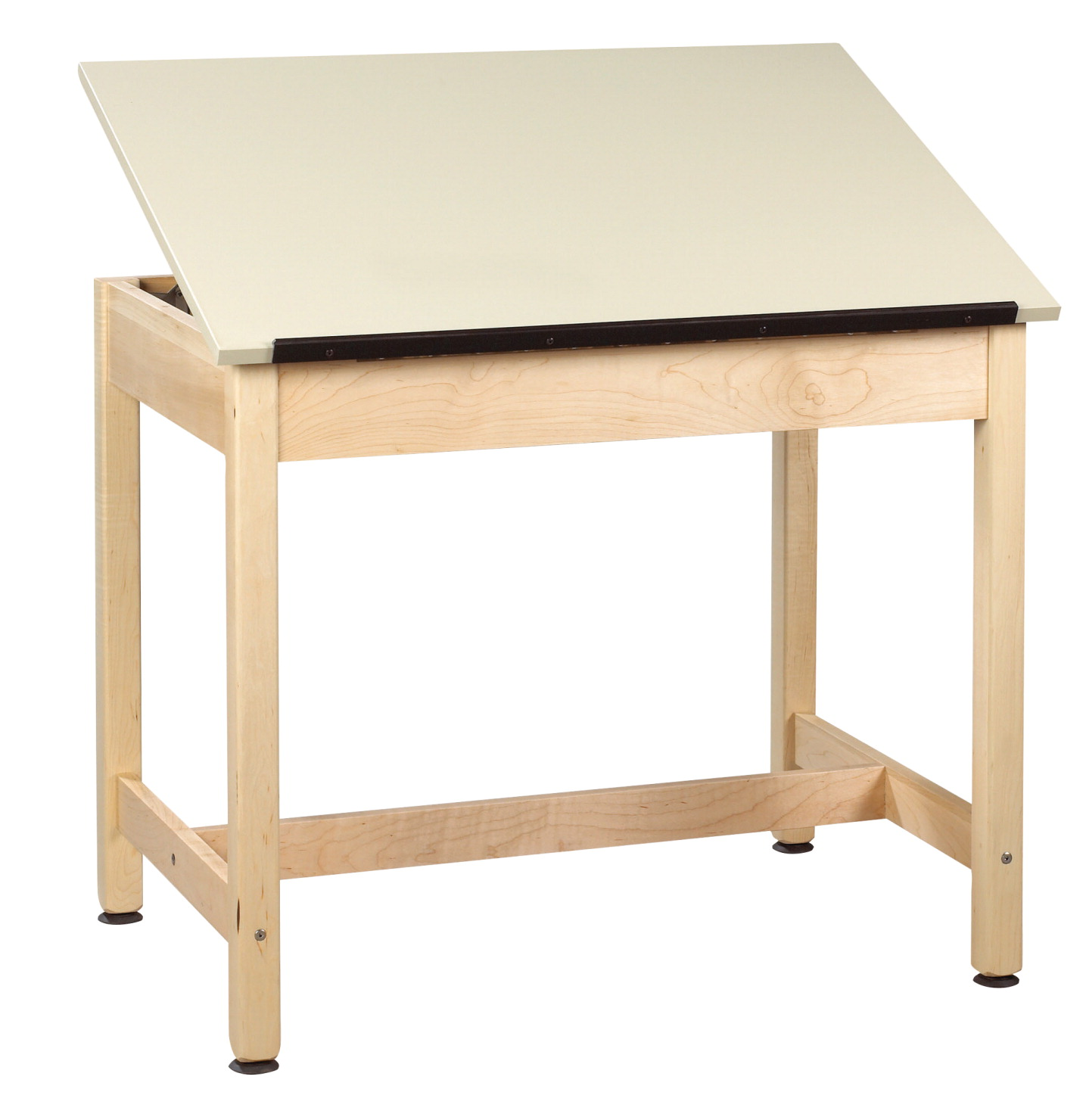 Diversified Woodcrafts 1-Piece Drafting Table, 36 x 24 x 36 Inches, Maple and Plastic