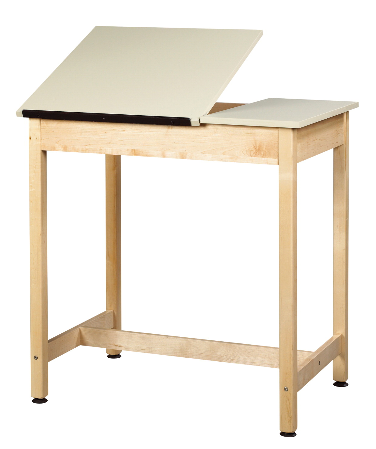 Diversified Woodcrafts 2-Piece Drafting Table, 36 x 24 x 36 Inches, Maple and Plastic