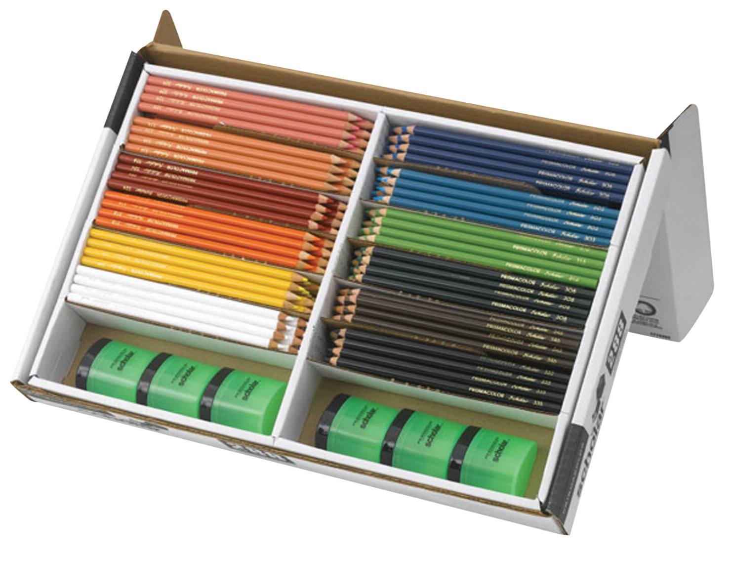 Prismacolor Scholar Pencil Classroom Set, Assorted Colors, Set of 288