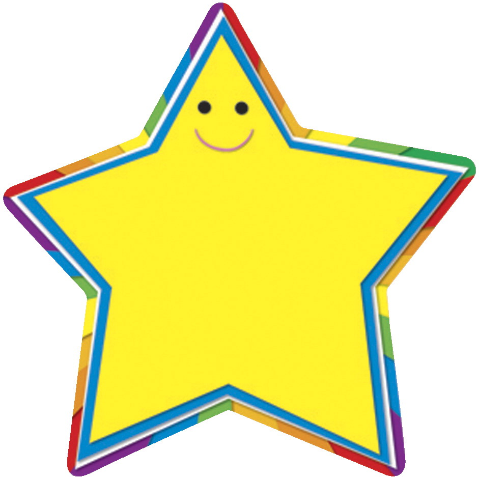Carson Dellosa Star Cut-Outs, 5-1/2 x 5-1/2 Inches, Pack of 36