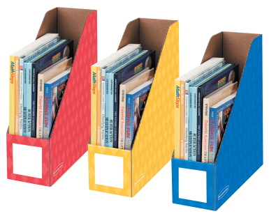 Bankers Box Magazine File Red Yellow Blue Classroom Direct