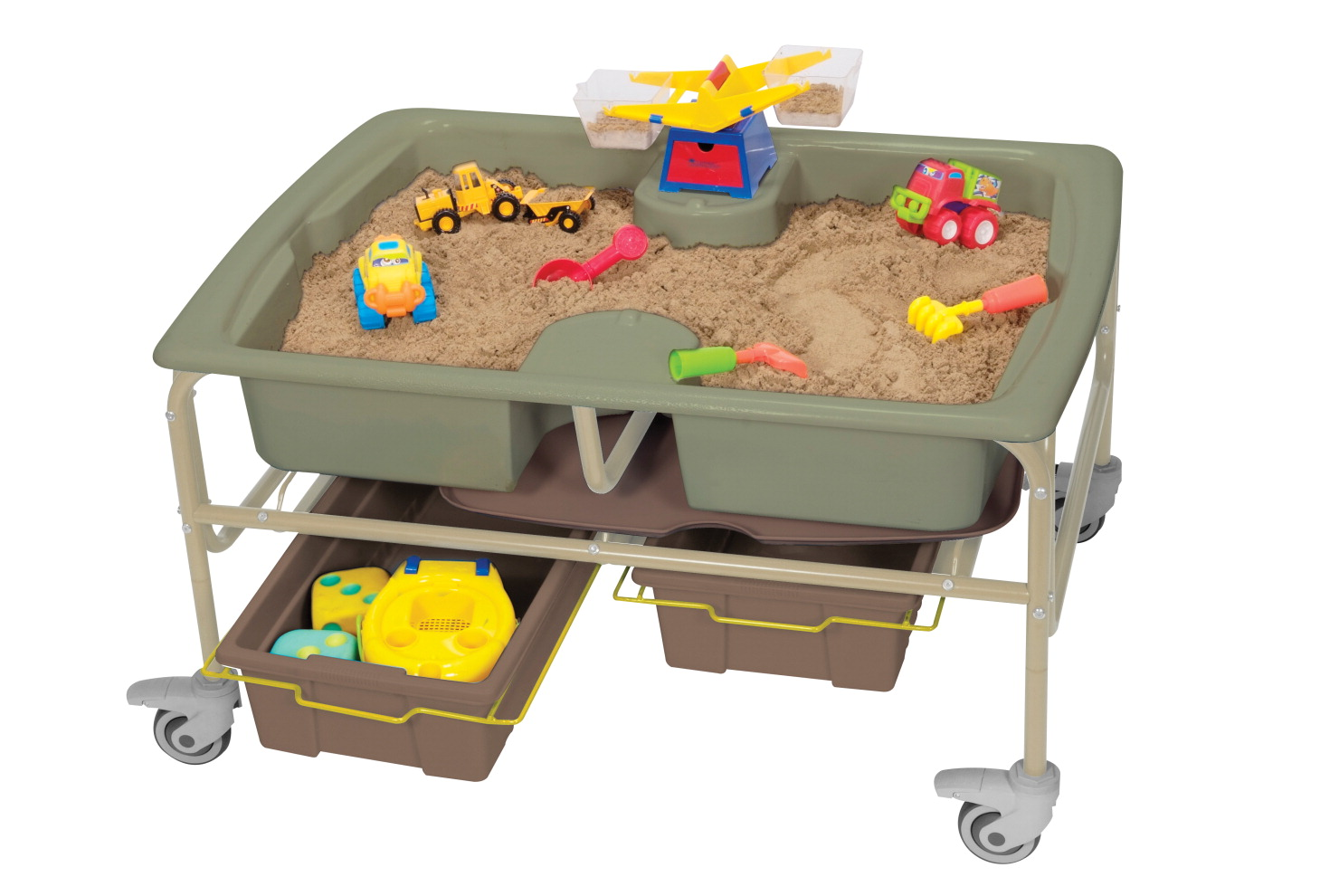 Copernicus Sand and Water Sensory Center, 42 x 30 x 18 to 24 Inches