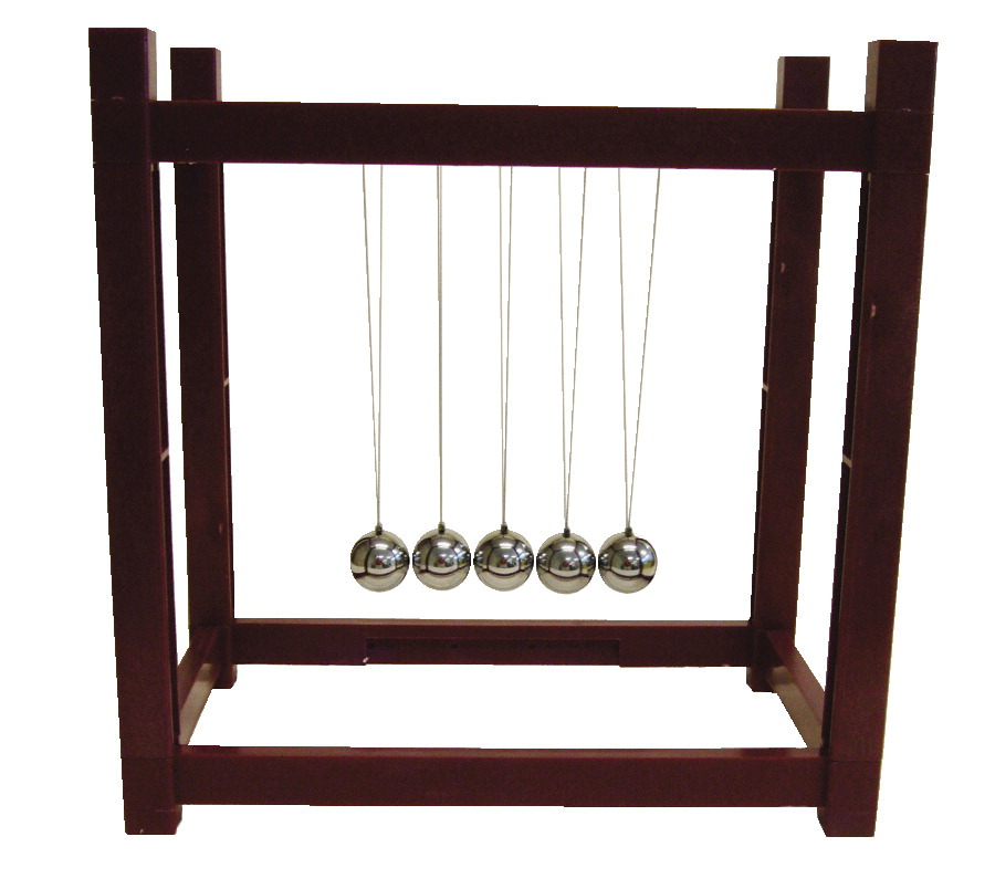 Science First Deluxe Newton's Cradle, 23 x 18 x 23 cm