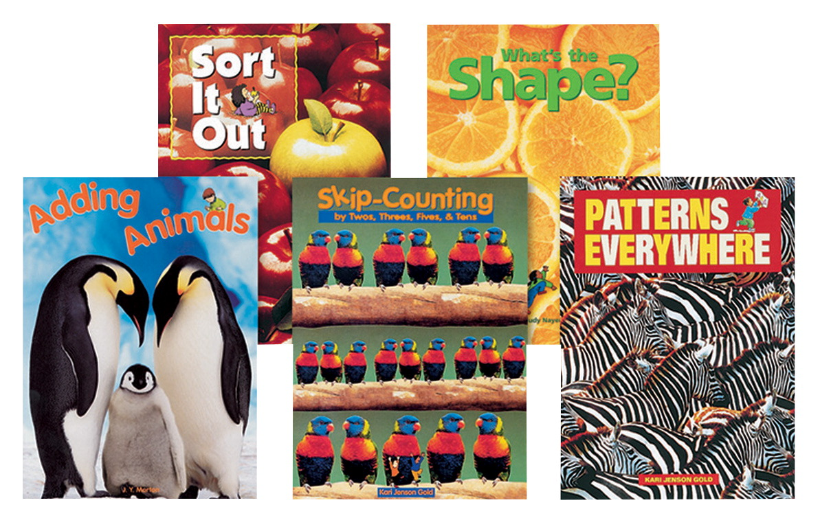 Childcraft Math Concepts Big Books Set 1, Pack of 5