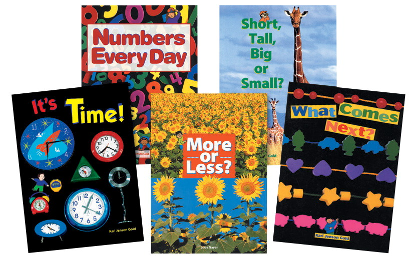 Childcraft Math Concepts Big Books Set 2, Pack of 5
