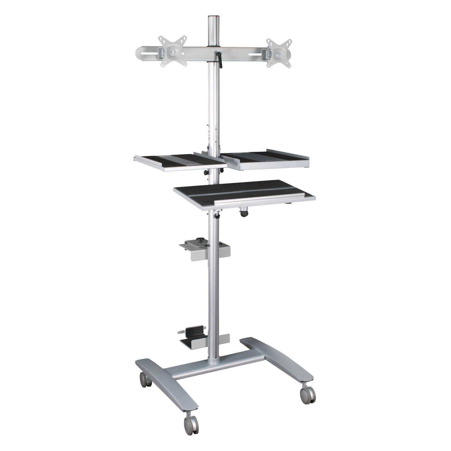 Best-Rite Beta Cart Sit-Stand Workstation 18-3/4 x 13-3/4 Inch Work Surface, 32 x 33 x 67 Inches