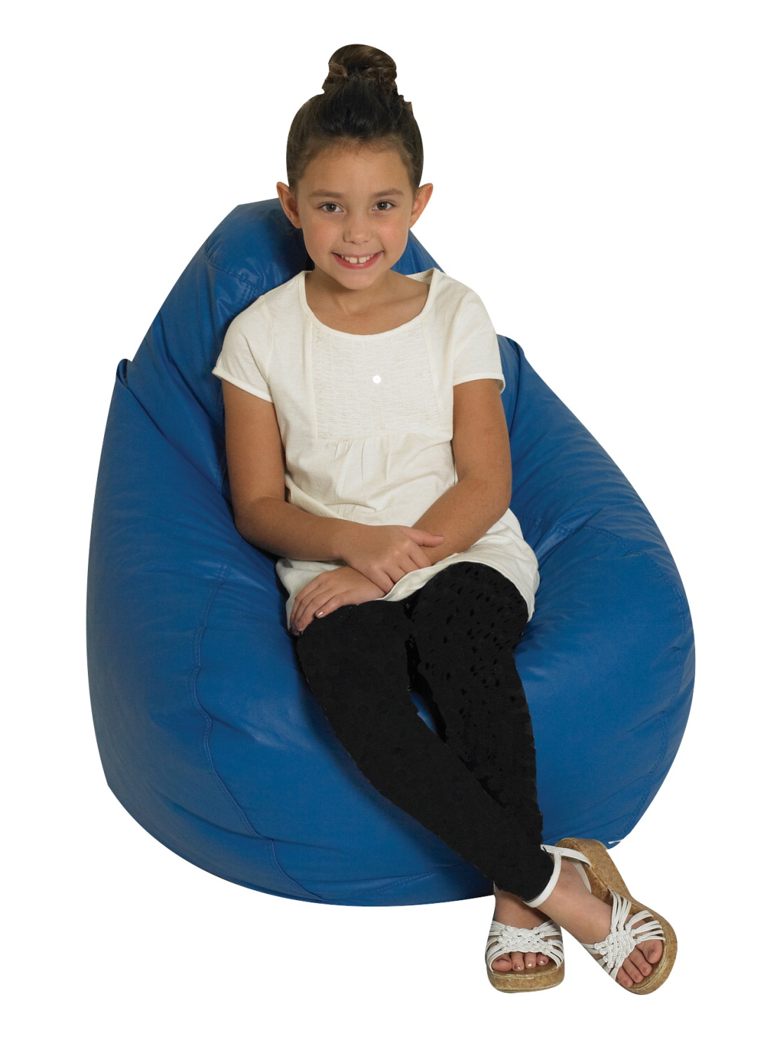 Childrens Factory Beanbag Chair Blue School Specialty