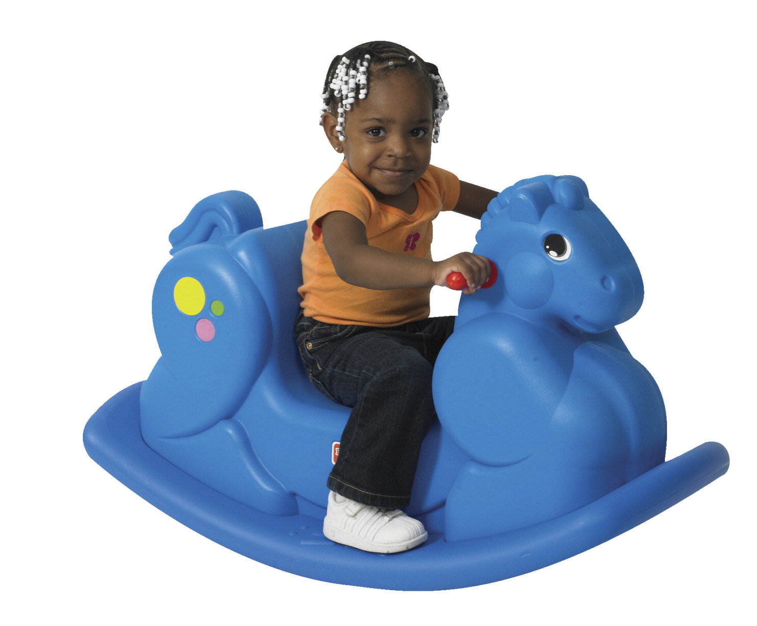 Children's Factory Rocking Horse, Blue